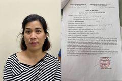 Khởi tố nữ kế toán làm giả giấy đi đường từ Hà Nội về Nghệ An