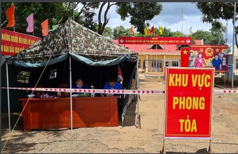 Bắt người mua bán ma túy nghi mắc Covid-19, nhiều cán bộ ở Đắk Nông phải cách ly