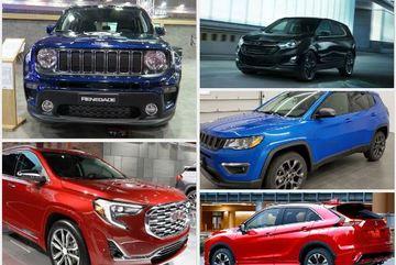 """5 mẫu SUV đô thị bị chê đắt, không """"đáng đồng tiền bát gạo"""""""