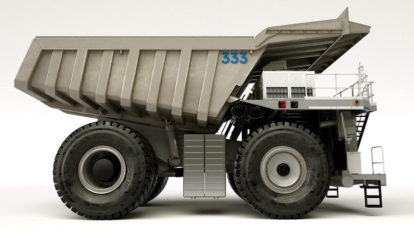 Hãng xe siêu sang Roll-Royce sản xuất xe tải khổng lồ