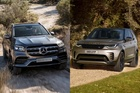 SUV hạng sang 5 tỷ đồng, chọn Mercedes GLS hay Land Rover Discovery?