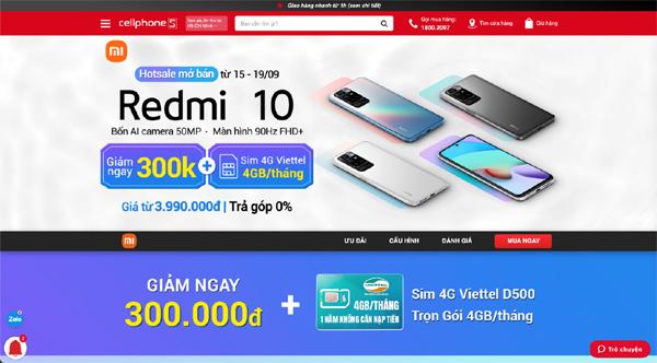 Xiaomi Redmi 10 màn hình 90Hz, pin 'khủng' chỉ hơn 3 triệu đồng