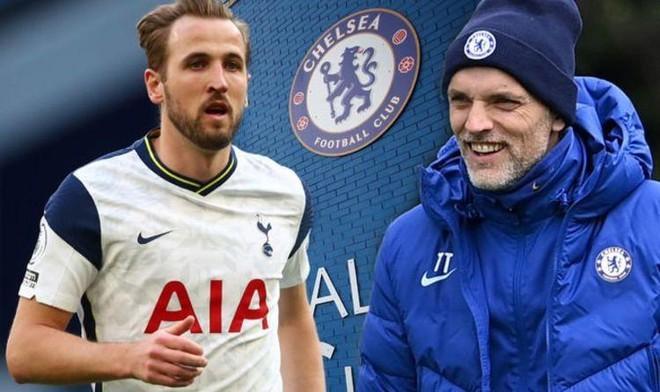 HLV Tuchel cười sung sướng vì Harry Kane hụt đến Man City