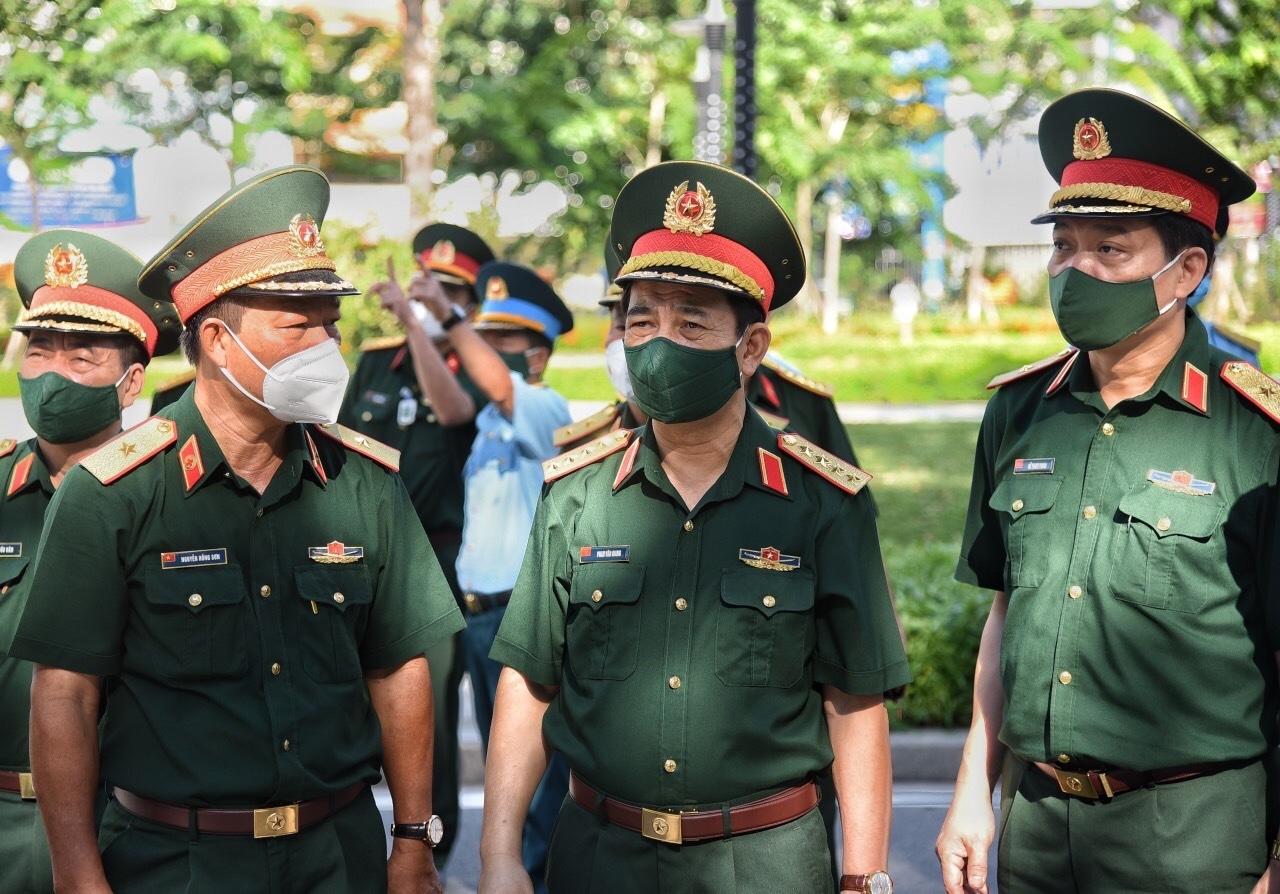 Khi nào TP.HCM dập dịch xong, lực lượng quân đội mới rút về