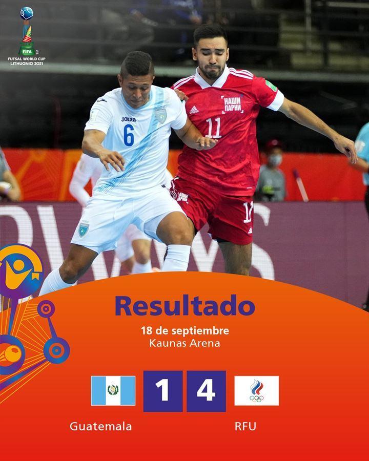 Xác định 13 đội vào vòng knock-out World Cup Futsal 2021