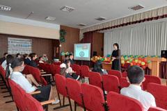 Khai giảng lớp tiếng Việt cho gần 20 học sinh ở thành phố Kiev