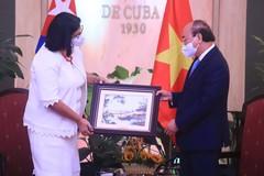 Cuba ủng hộ Việt Nam hôm nay, ngày mai và mãi mãi