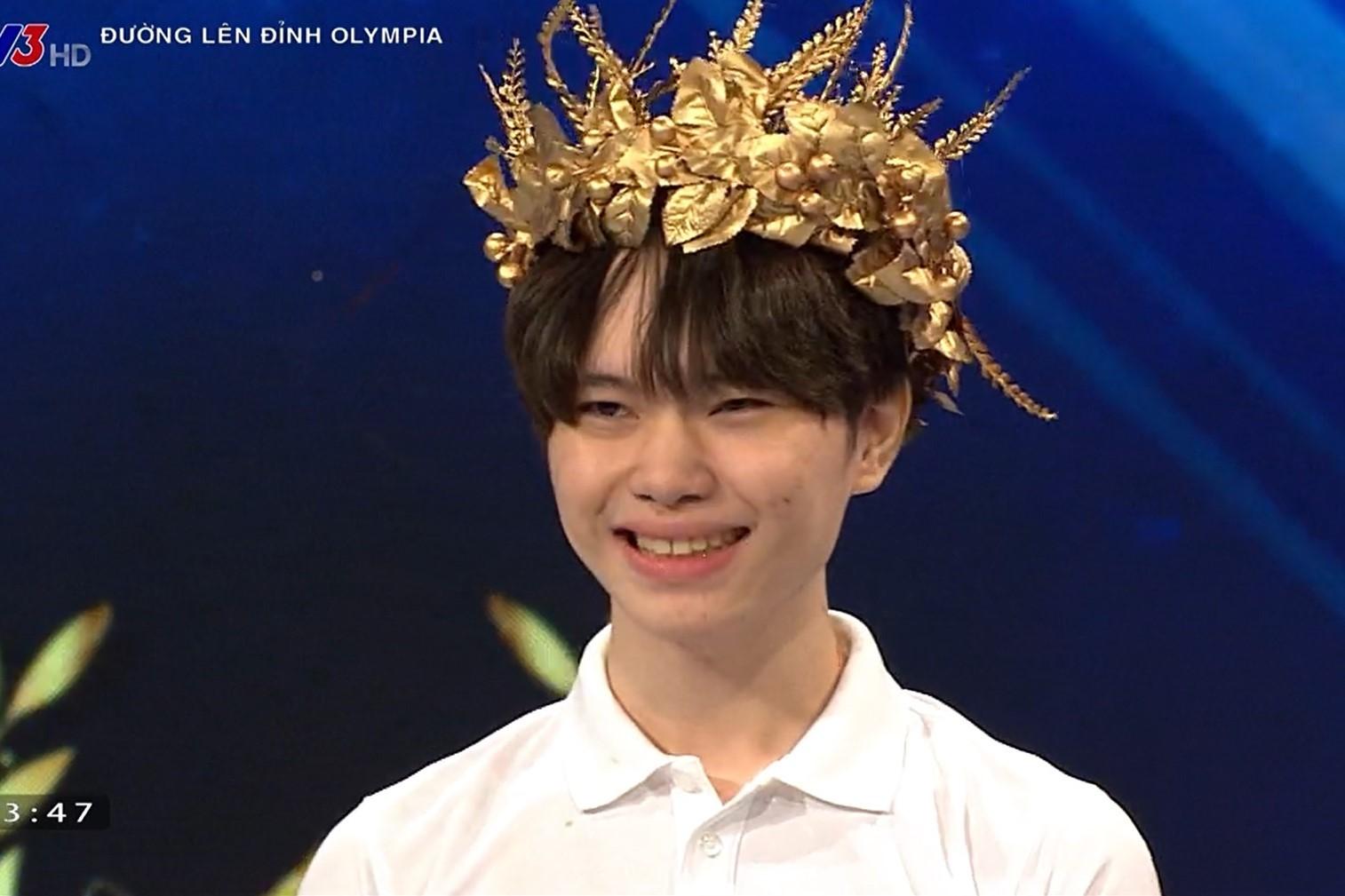 Nam sinh Nghệ An giành tấm vé cuối cùng vào chung kết năm Olympia
