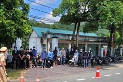 Bắt giữ 40 thanh niên tụ tập, bốc đầu xe ở Vĩnh Phúc