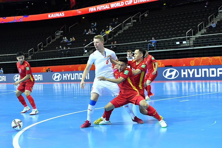 Xác định đối thủ của ĐT futsal Việt Nam ở vòng 1/8 World Cup