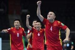 FIFA, AFC hết lời khen ngợi tuyển futsal Việt Nam