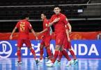 Nối gót Việt Nam, Thái Lan vào vòng 1/8 World Cup Futsal