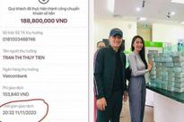 """Danh tính người chuyển 188 triệu sau 9 ngày Thủy Tiên đóng tài khoản, số tiền bị """"treo"""" vì nguyên nhân này"""
