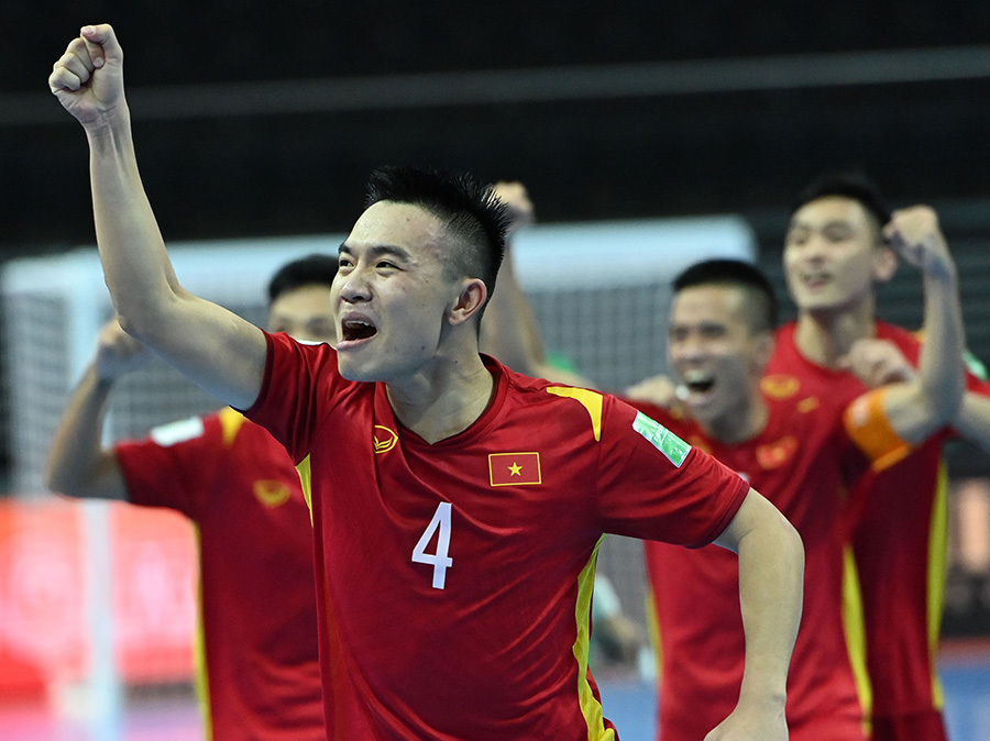 Vietnam storm into FIFA Futsal World Cup 2021 knock-outs