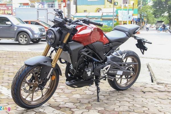 Năm mẫu nakedbike giá rẻ tiết kiệm xăng tại Việt Nam