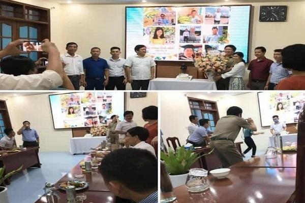 Tổ chức sinh nhật ở cơ quan, Chủ tịch Quảng Nam yêu cầu Sở Công thương rút kinh nghiệm