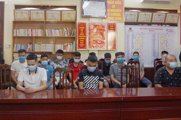 Công an Hà Giang phá đường dây cá độ bóng đá trên 200 tỷ đồng
