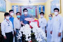 Chúc mừng đại lễ Hội Yến Diêu Trì Cung của đồng bào đạo Cao Đài