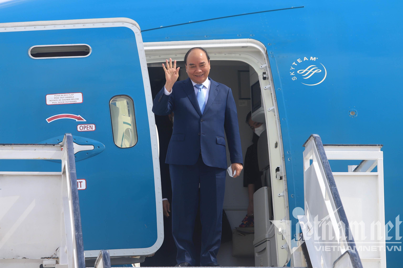 Chủ tịch nước rời Cuba đến New York dự phiên họp Liên Hợp Quốc