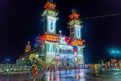 """""""Hoi Yen Dieu Tri Cung"""" – the most important event of Cao Dai followers"""