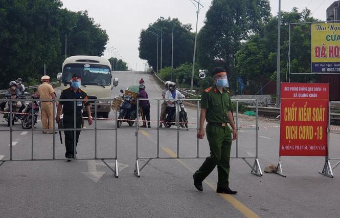 Quy định đến Bắc Giang, Vĩnh Phúc đối với người ngoại tỉnh