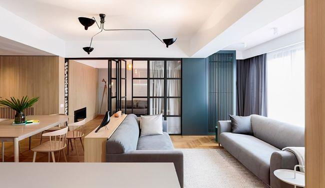 Thông phòng khách với ban công, mẹo hay cho căn hộ nhỏ
