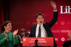 Thủ tướng Canada tái đắc cử nhiệm kỳ ba