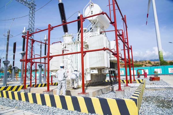 Vận hành thương mại dự án điện gió số 5 - Ninh Thuận