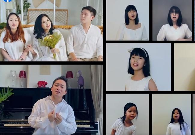 Diva Thanh Lam cùng vợ chồng con gái làm MV tri ân bác sĩ chống dịch