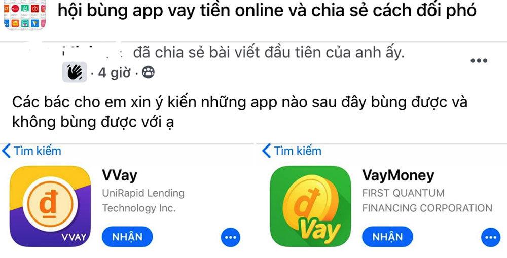 Rủ nhau vay tiền qua app rồi… xù