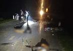 4 xe máy tông trực diện, 5 người chết trong đêm Trung thu
