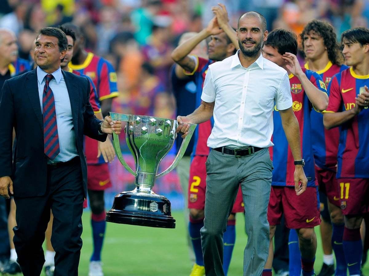 Chủ tịch Barca kéo Pep Guardiola về thay Koeman