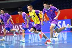 Futsal Việt Nam vs Nga: Tinh thần vượt khó