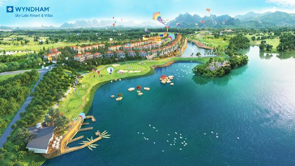 Wyndham Sky Lake Resort & Villas - nghỉ dưỡng 5 sao trong quần thể golf