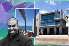Kanye West chi 60 triệu USD mua biệt thự ven biển sau khi chia tay Kim Kardashian