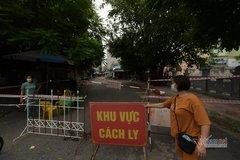 Phong tỏa khu vực có hai người dương tính SARS-CoV-2 ở Hà Nội