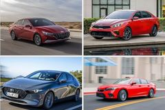 4 chiếc sedan giá rẻ, được ưa chuộng nhất hiện nay