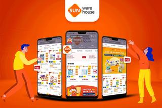 Sun Warehouse chính thức gia nhập gian hàng Shopee Mall