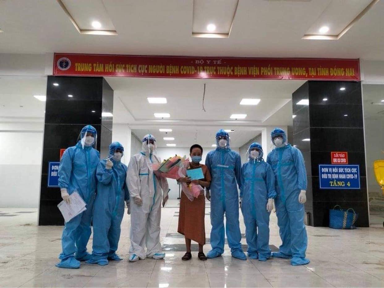 Bệnh nhân Covid-19 chạy ECMO đầu tiên tại Đồng Nai xuất viện