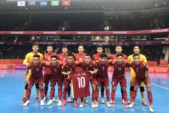 FIFA: Tuyển futsal Việt Nam kiêu hãnh rời World Cup