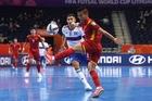Futsal Việt Nam vs Nga: Đắc Huy ghi bàn