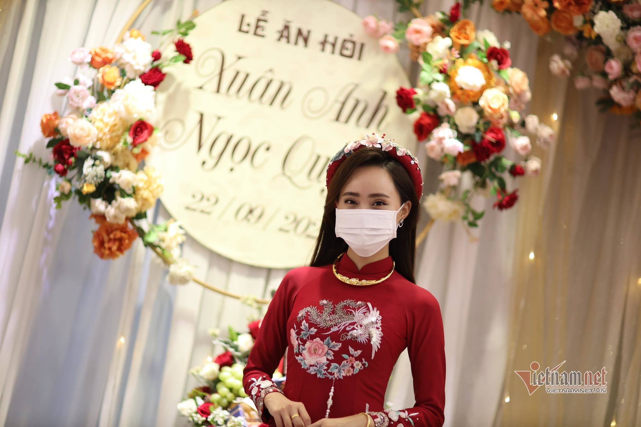 Lễ ăn hỏi của MC Xuân Anh thời tiết VTV