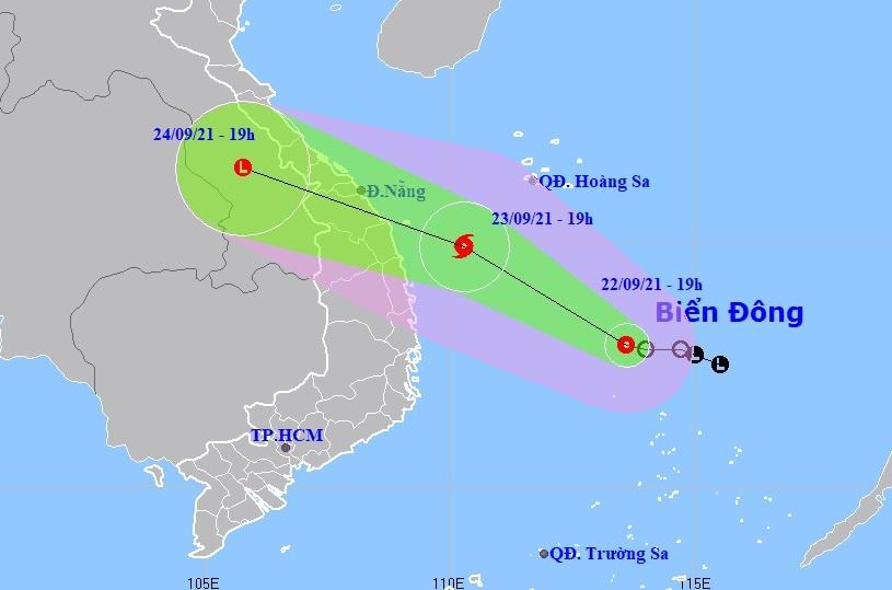 Áp thấp có khả năng thành bão, Đà Nẵng phát Công điện ứng phó