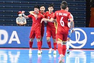 Tuyển futsal Việt Nam suýt gây địa chấn trước Nga