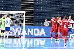 Highlights futsal Việt Nam 2-3 Nga: Rượt đuổi kịch tính