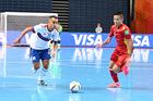 Trực tiếp Nga vs Argentina: Tứ kết World Cup Futsal
