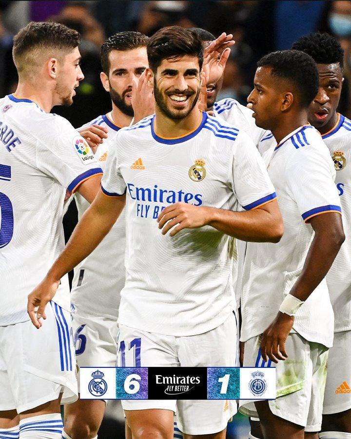 Benzema và Asensio lên đồng, Real Madrid thắng kiểu tennis