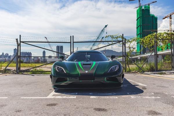 Đấu giá xe triệu đô Koenigsegg Agera S màu xanh lá cực hiếm ở Hồng Kông