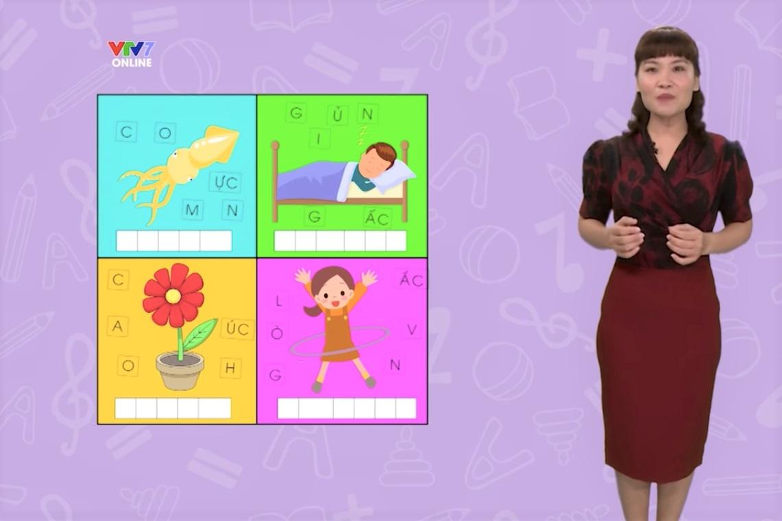 Ba kênh truyền hình quốc gia phát sóng bài giảng lớp 1, lớp 2