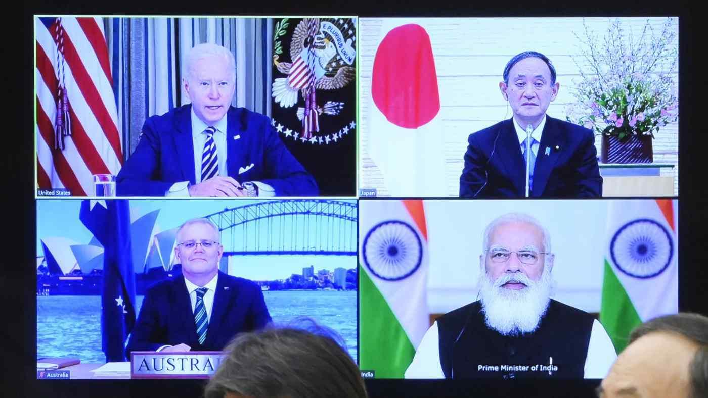 Bộ Tứ sẽ phản đối các hành vi của Trung Quốc trên biển